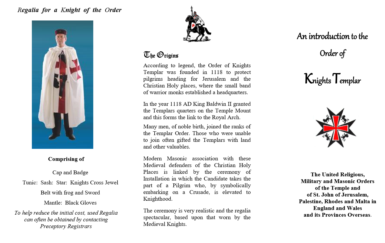 ktleaf1 - Cheshire and North Wales Priory of Knights Templar