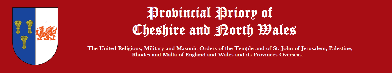 Cheshire and North Wales Priory of Knights Templar